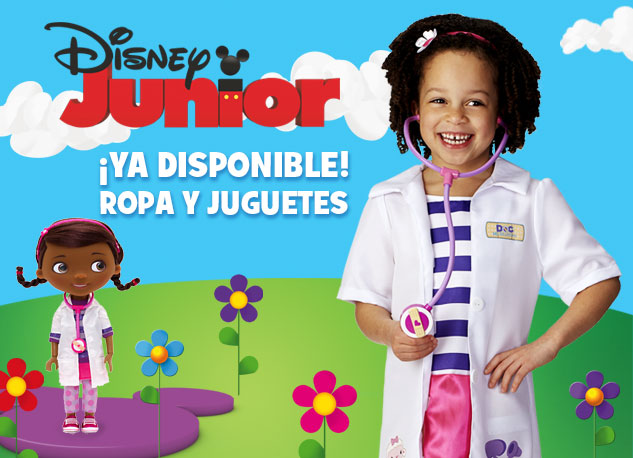 ¡Ya disponible! Ropa y juguetes de Disney Junior