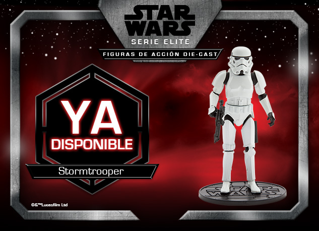 Star Wars Serie Elite: Figuras de Acción Die-Cast