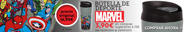 Botella de deporte Marvel