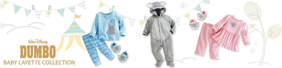 Dumbo Baby Layette Collection