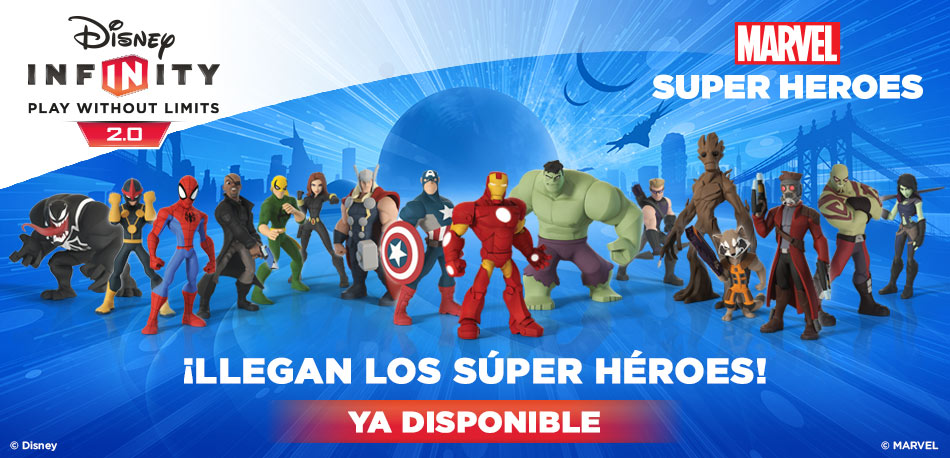Disney Infinity 2.0 ya disponible