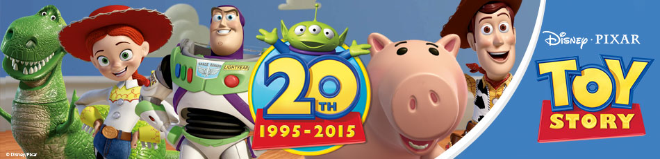 Toy Story 20th 1995-2015