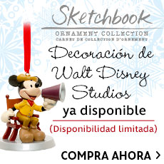 Decoración de Walt Disney Studios ya disponible - Disponibilidad limitada