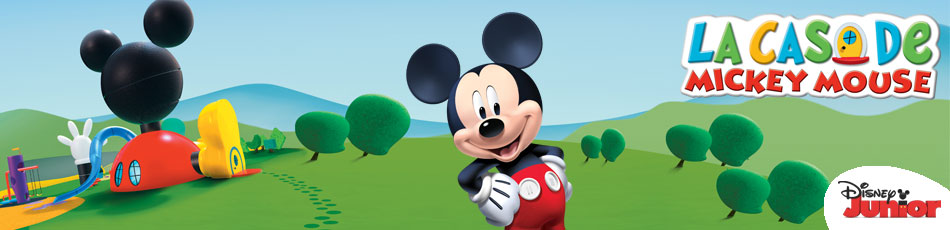 La Casa De Mickey Mouse. Disney Junior