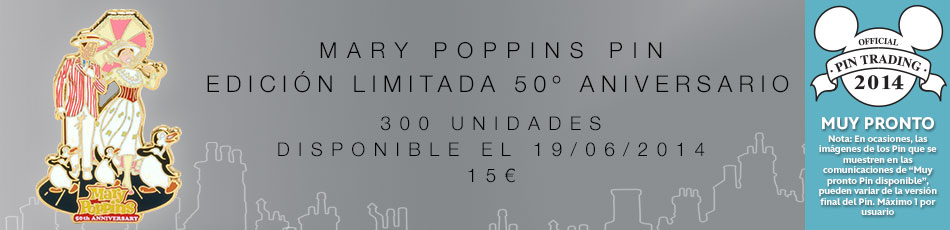 Mary Poppins Pin Edición Limitada